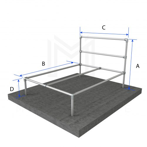 DIY Modular Bed Frame Kits Modular Metal Store