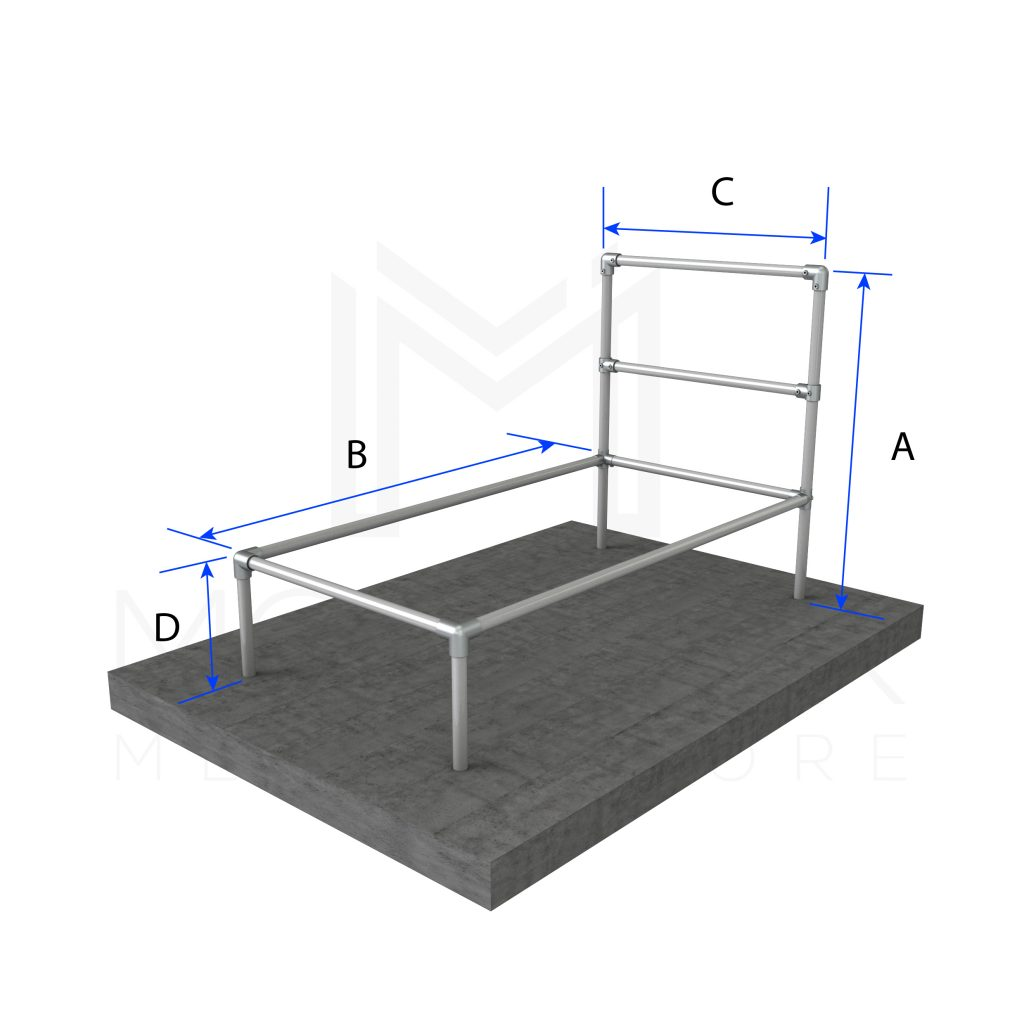Twin Bed Basic Frame Modular Metal Store