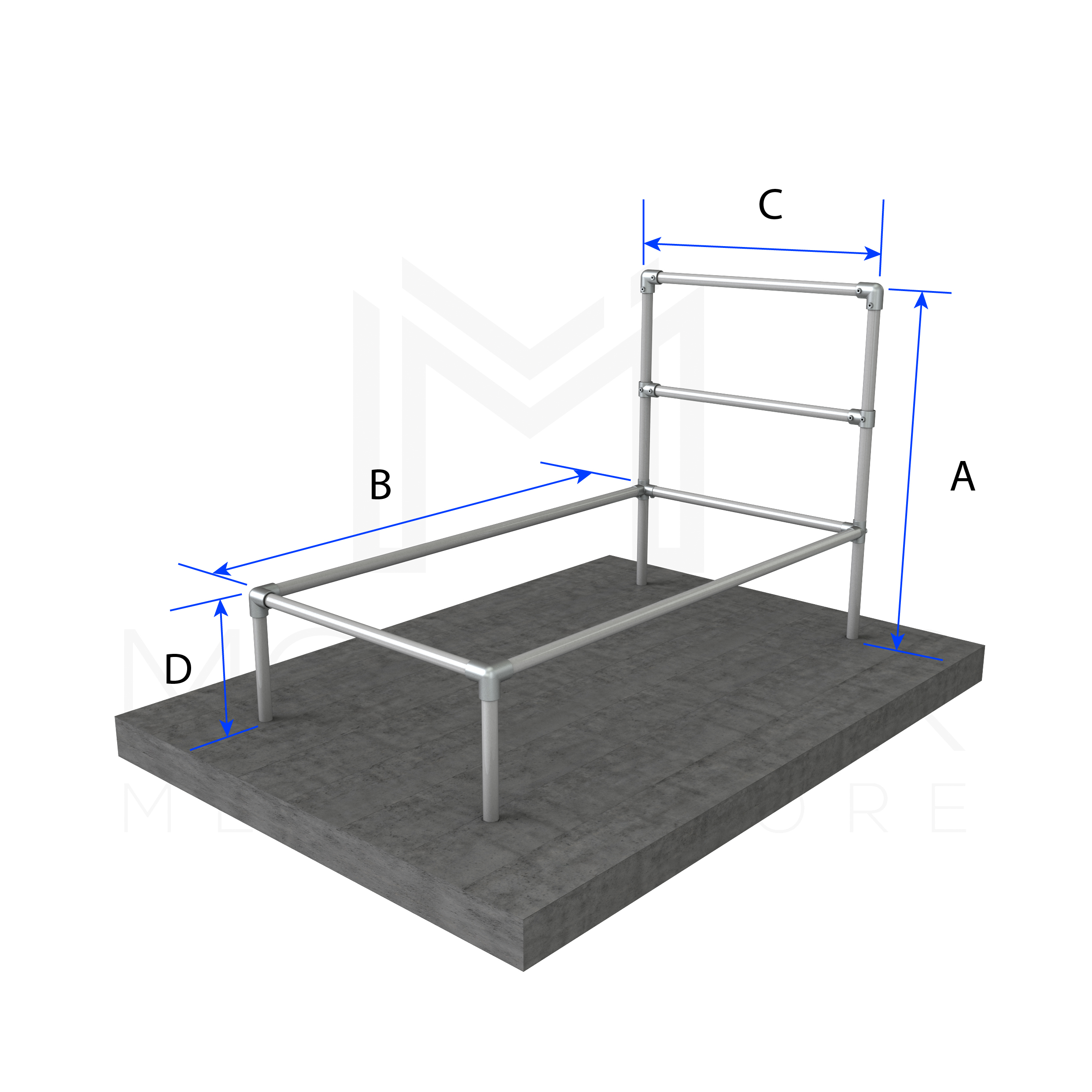 Twin Bed Basic Frame