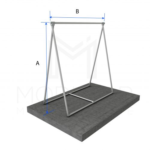 A Frame Sign Dimensions