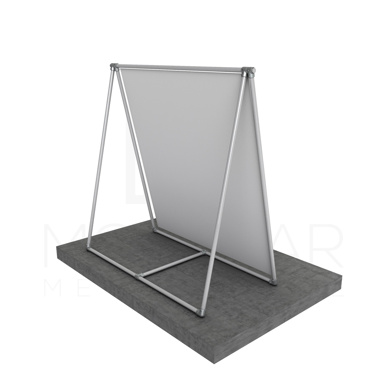 Modular A Frame For Signs Modular Metal Store