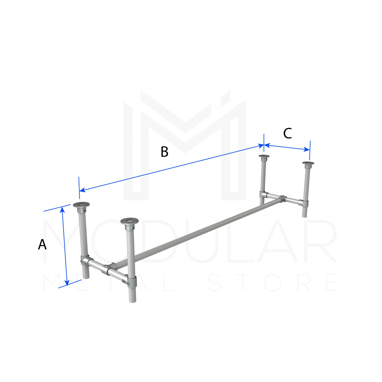Basic Bench - Modular Metal Store