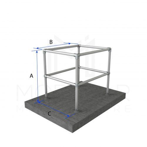 Column Protection Perimeter Dimensions