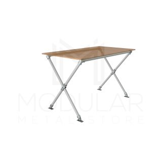Cross Leg Table Frame With Top_PhysCamera001 (0-00-00-00)
