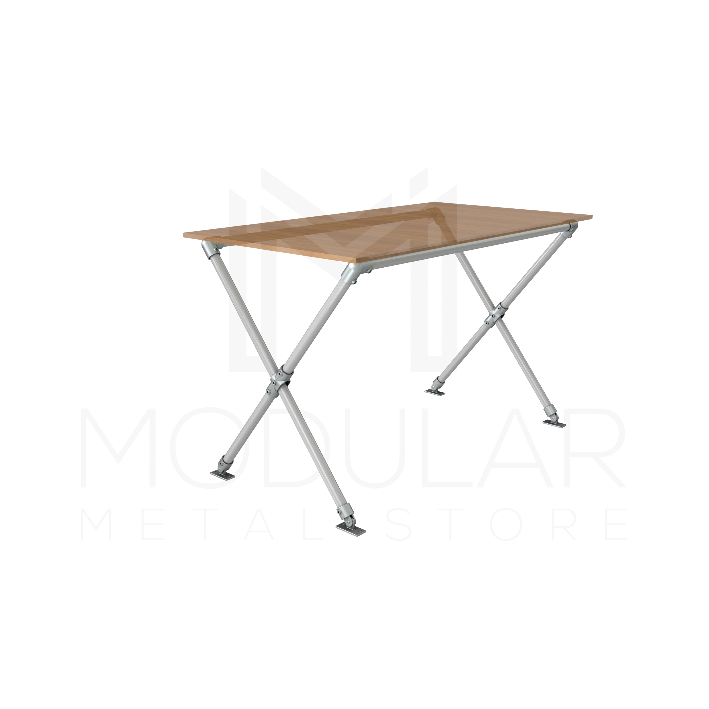 ... Cross Leg Table Frame With Top_PhysCamera001 (0 00 00 00) ...