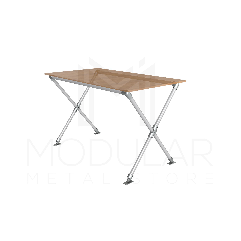 Ideal Cross Leg Table Frame - Modular Metal Store QT26