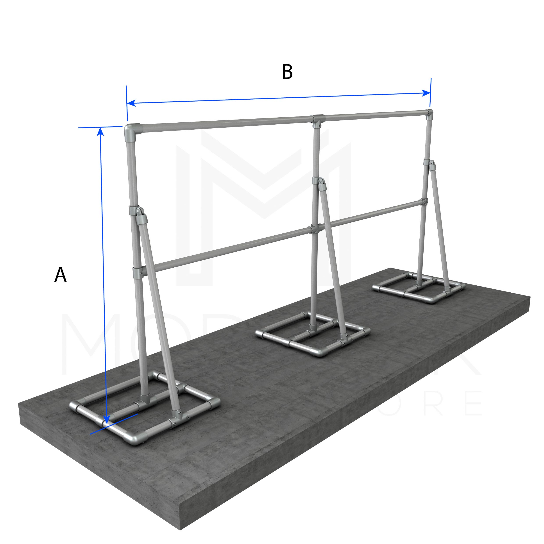 Free Standing Heavy Duty Sign Frames – Mulitple Spans - Modular ...