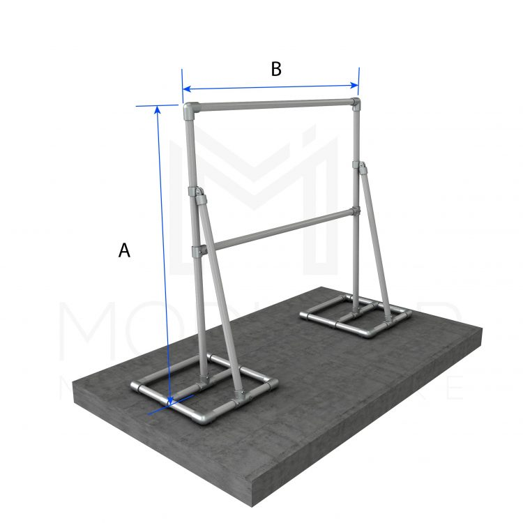 Free Standing SIgn Frame Single Dimensions