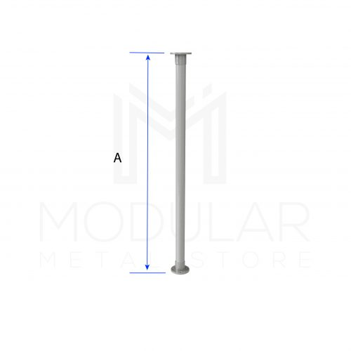 Table Leg Single Dimensions